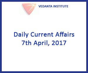 Vedanta Institute Daily Current Affair
