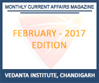 Vedanta Monthly Current Affairs February 2017 Magazine Free Download