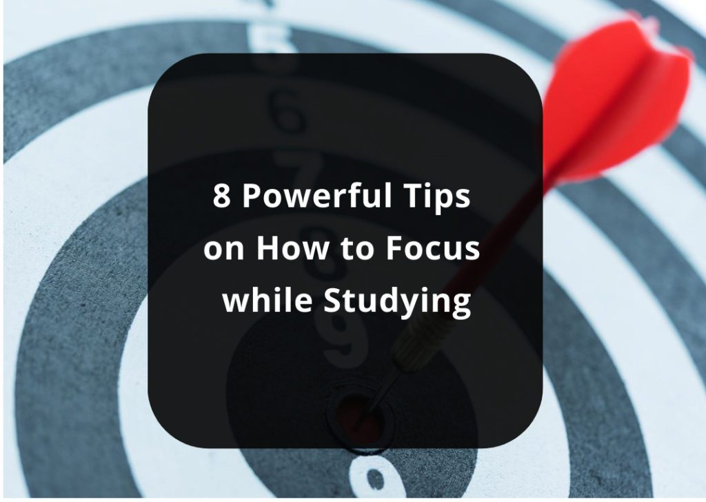 tips to stay focused during exams